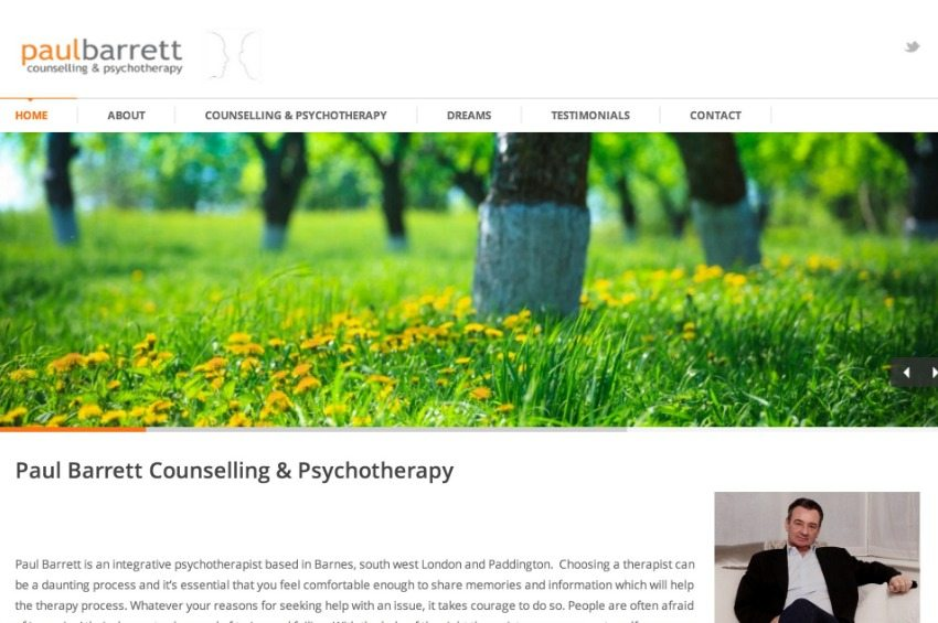 Paul Barrett Counselling & Psychotherapy