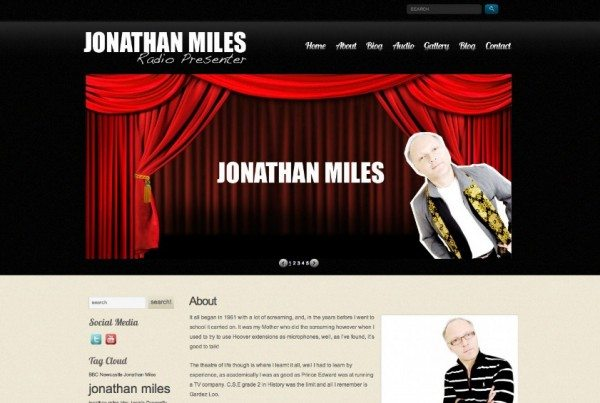 Jonathan Miles radio broadcaster