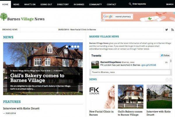Barnes Village News - Barnes Village SW London