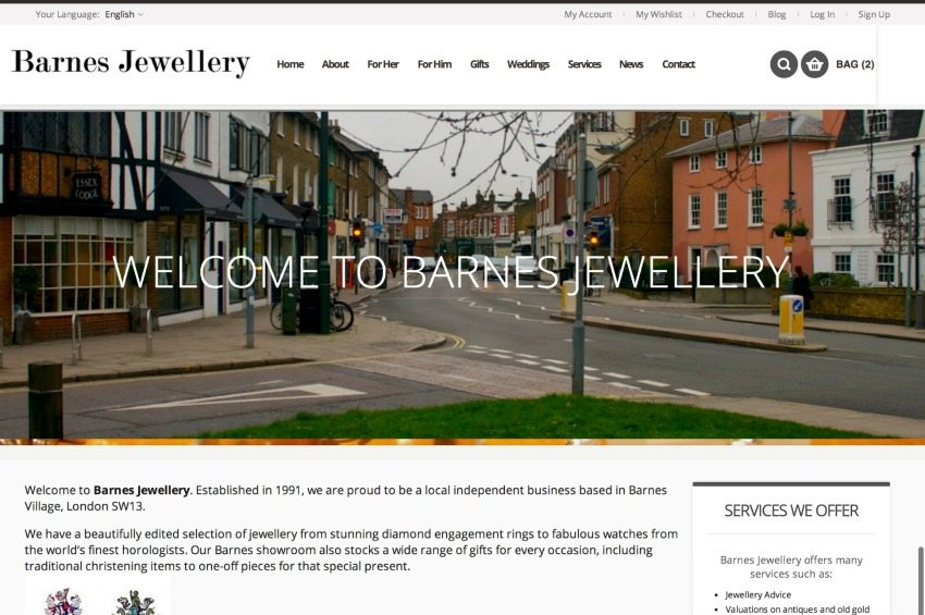 Barnes Jewellery - Barnes Village London