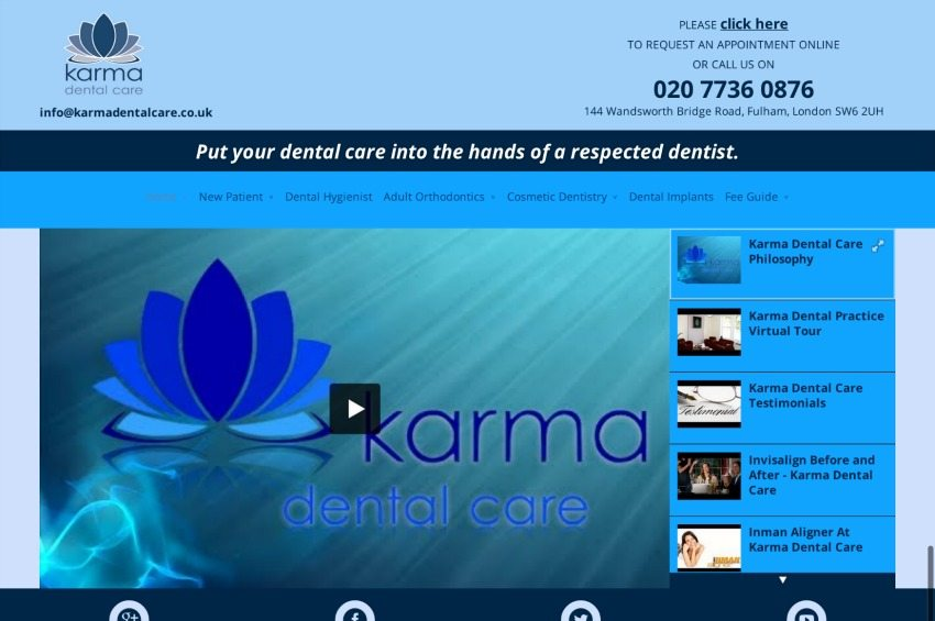 Karma Dental Care - Dentist in Fulham