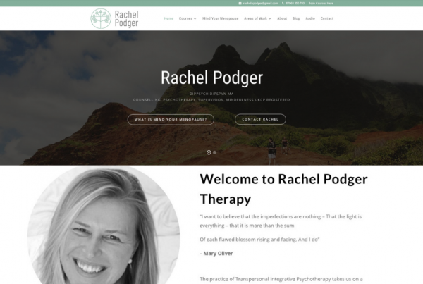 Rachel Podger Therapy