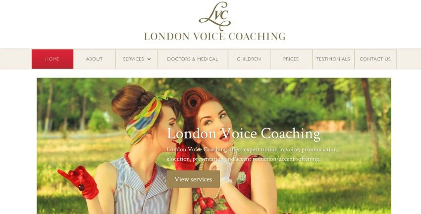 London Voice Coaching