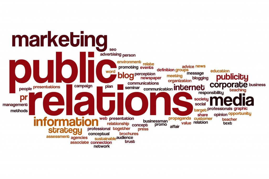 essays on public relations Public relations (pr) is the business function charged with planning and managing an organization's relationships with key stakeholders through the effectiread.
