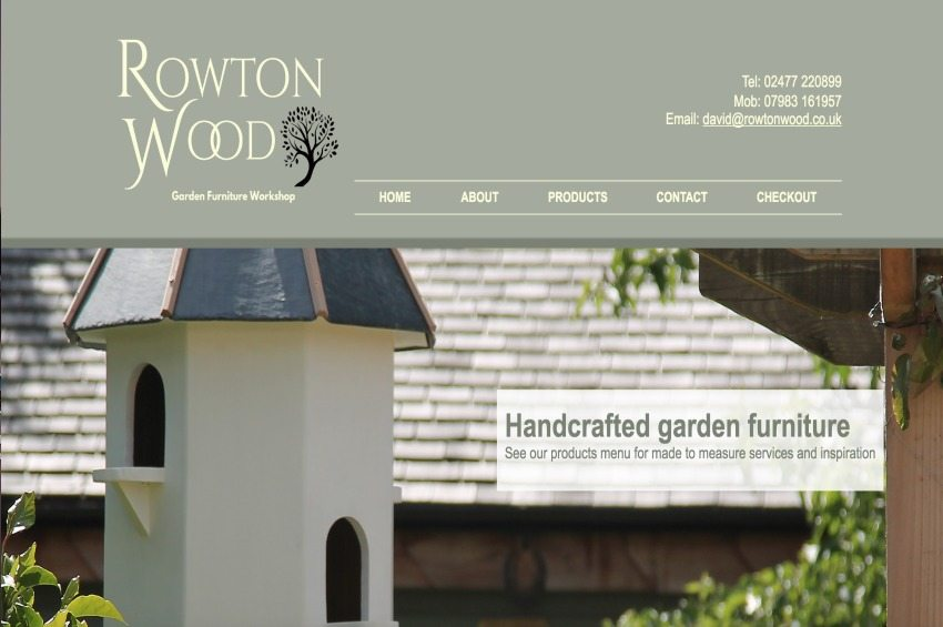 Rowton Wood Furniture Manufacturer