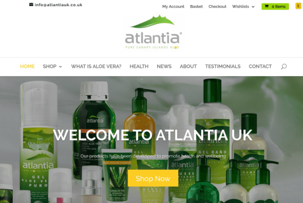 Atlantia UK - Aloe Vera Products