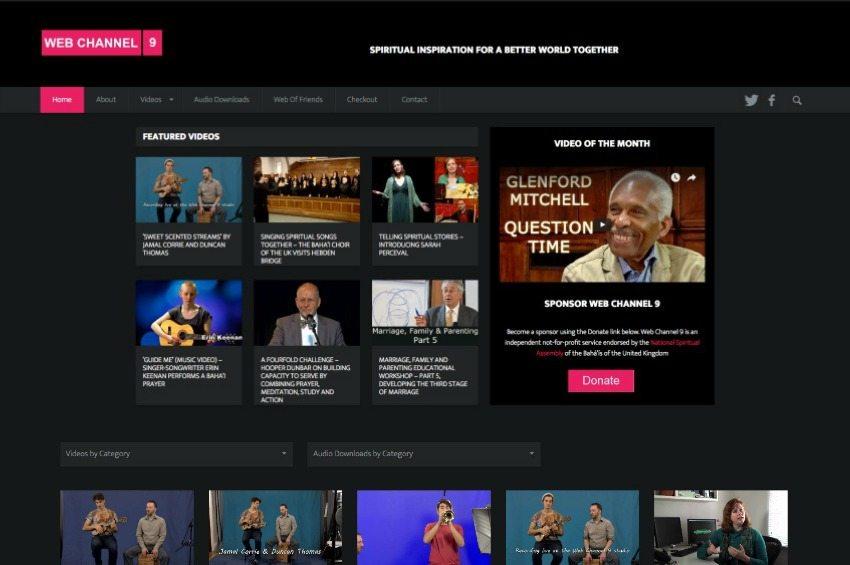 Web Channel 9 - Bahai videos