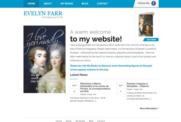 Evelyn Farr Author