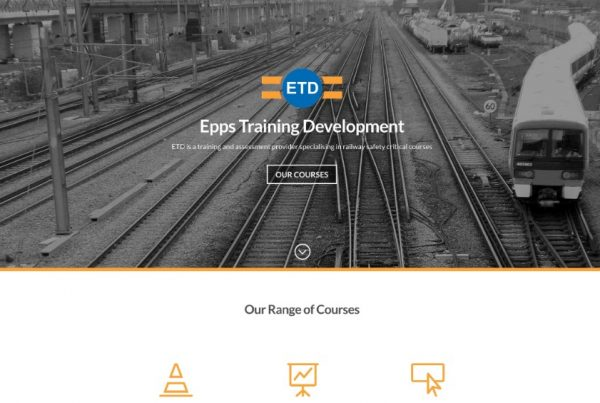 EPPS Training and Development - Railway Safety critical courses