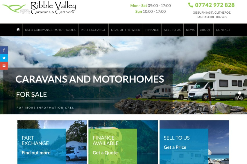 Ribble Valley Caravans and Motorhomes
