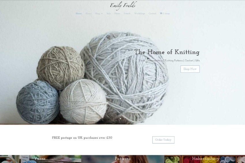 Emily Foulds - The home of knitting