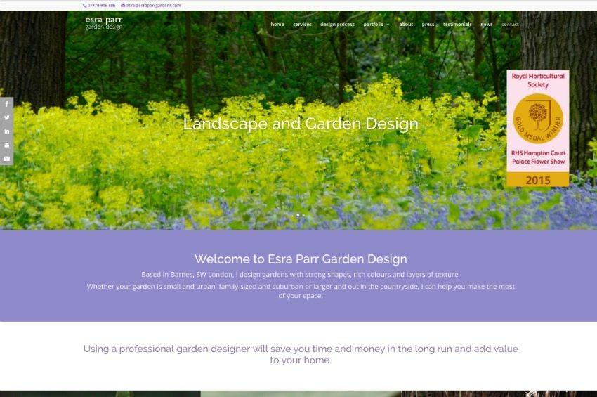 Garden Design Website Markcastroco