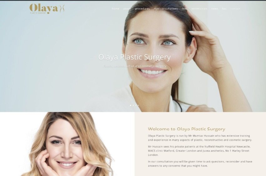 Plastic Surgery website launched