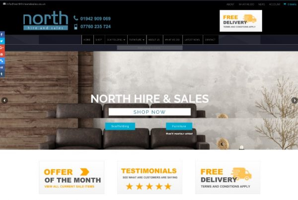 North Hire and Sales