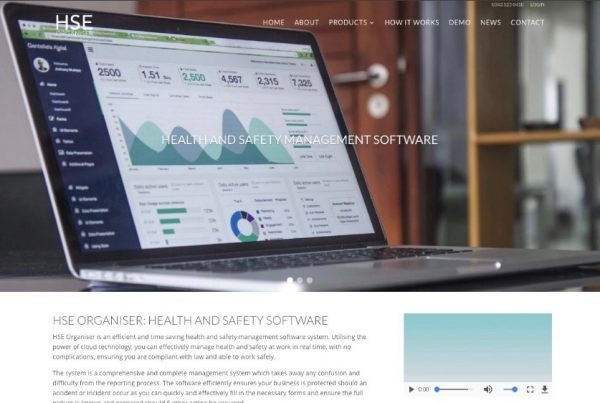 Health and Safety Software - HSE Organiser