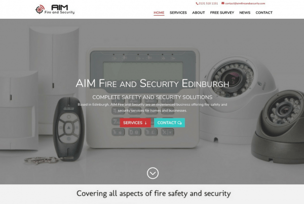 AIM Fire and Security Edinburgh