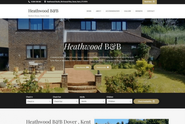 Bed and Breakfast Dover - Heathwood B&B