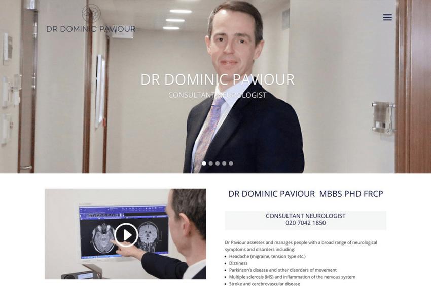 Dr Dominic Paviour - Consultant Neurologist