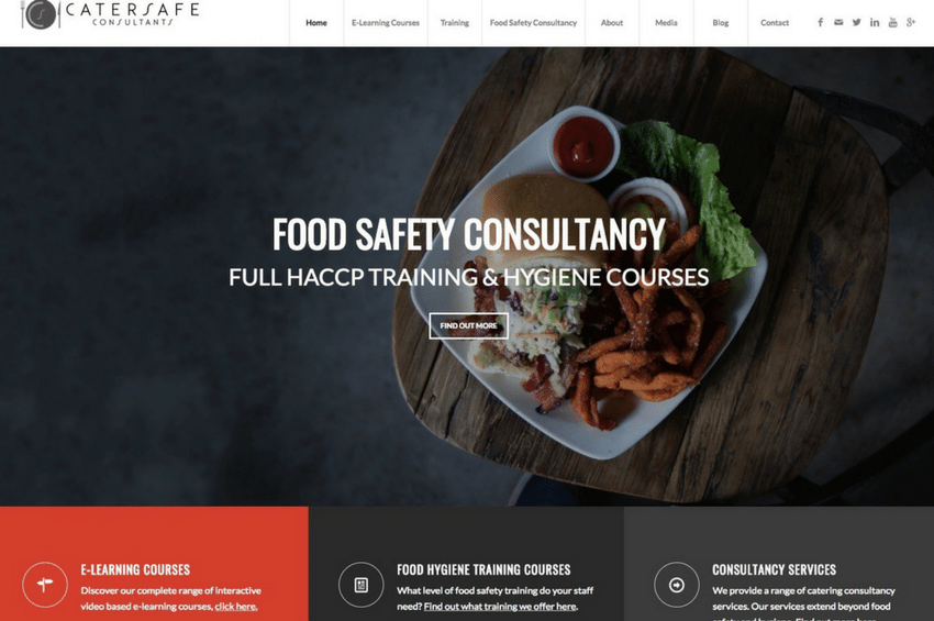 CaterSafe Consultants - Food Safety training