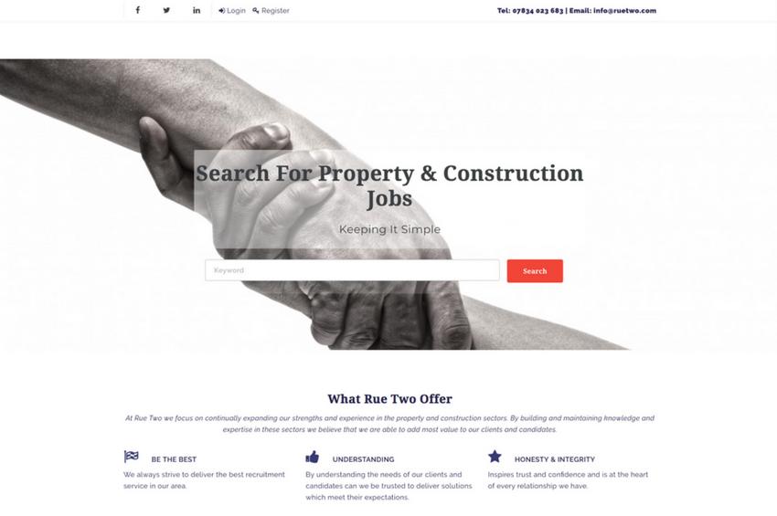 Recruitment Agency Website Design and SEO
