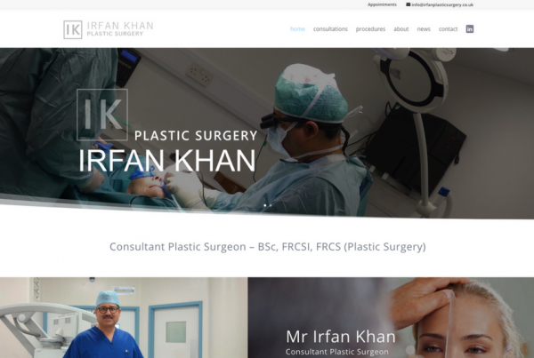 Plastic Surgery Website Design and Marketing
