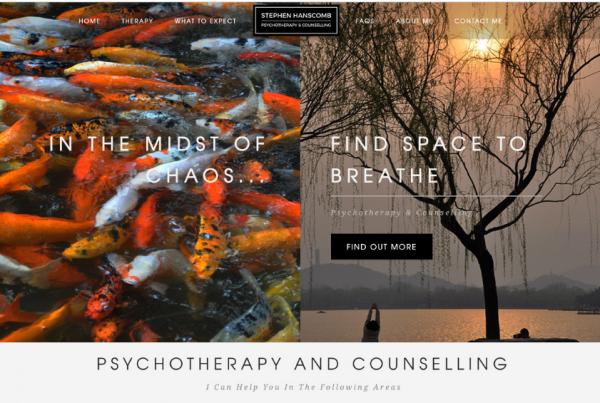Stephen Hanscomb Psychotherapist & Counsellor