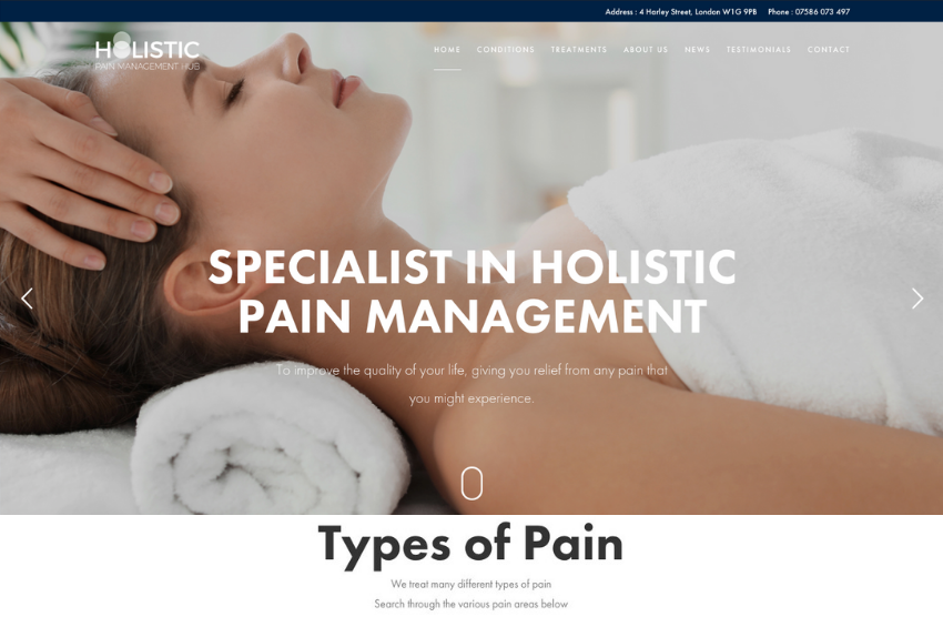 Holistic Pain Management Lab