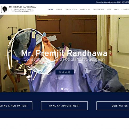 Mr Premjit Randhawa -Consultant ENT Surgeon