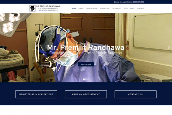 Mr Premjit Randhawa - Consultant ENT Surgeon
