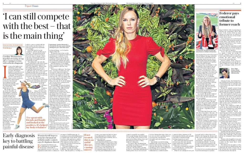 Dr Stephanie Barrett interview in The Daily Telegraph