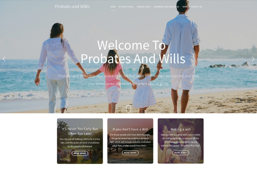 Probate and Wills | Will Writing