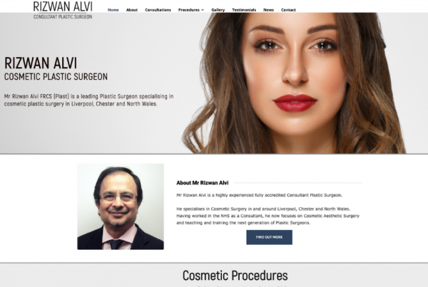 Plastic Surgeon Liverpool - Mr Rizwan Alvi