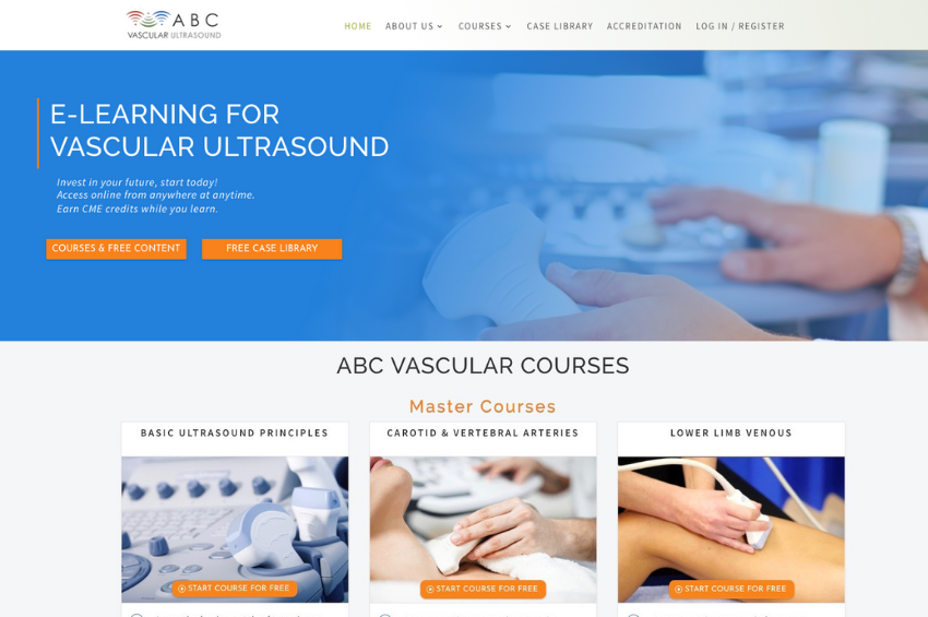 E-Learning For Healthcare Website