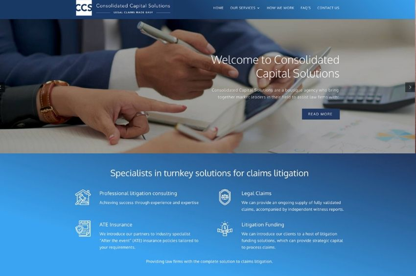 Consolidated Capital Solutions