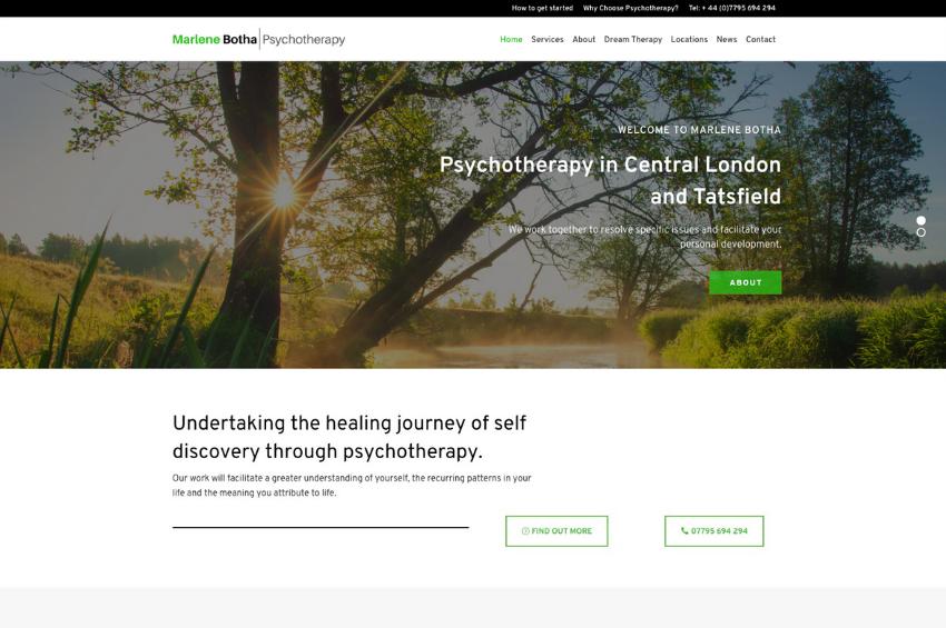 Marlene Botha Psychotherapy