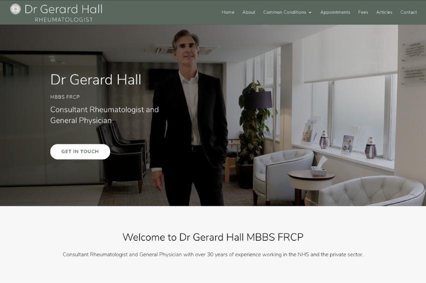 Dr Gerard Hall - Consultant Rheumatologist