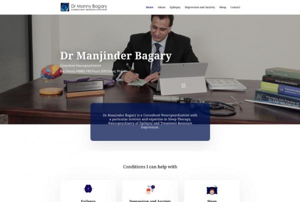 Dr Manny Bagary - Consultant Neuropsychiatrist