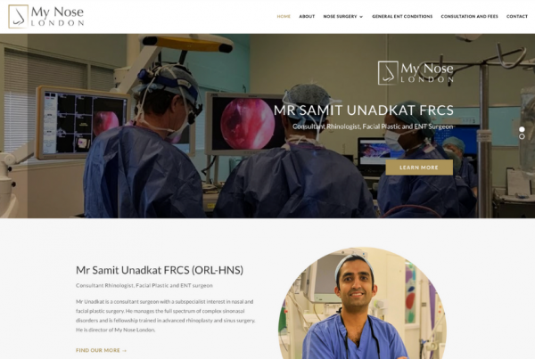 Mr Samit Unadkat - Consultant ENT Surgeon