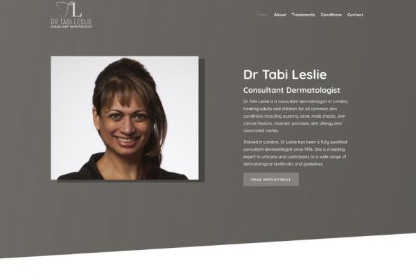 Consultant Dermatologist - Dr Tabi Leslie