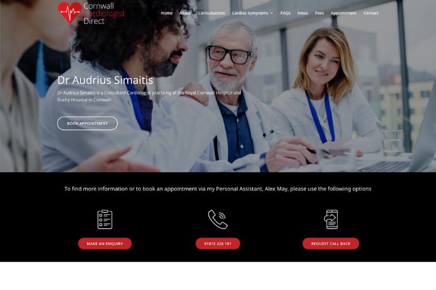 Corwall Cardiologist Direct - Dr Audrius Simaitis