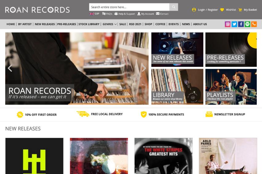 Roan Records - Record Shop
