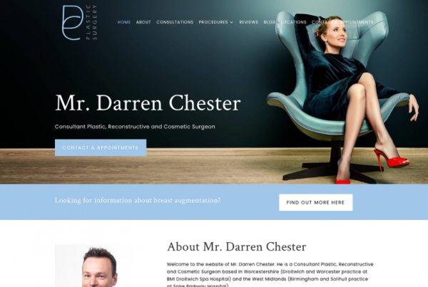 Mr Darren Chester - Plastic Surgeon